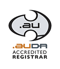 .AUDA accredited registrar